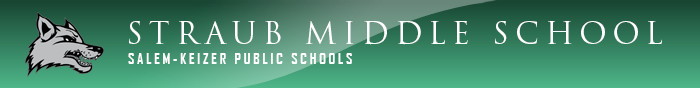 Straub Middle School Logo