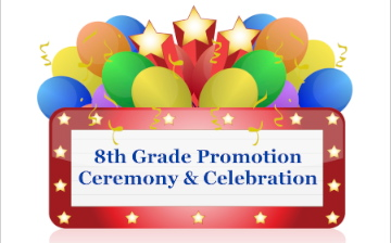 Image result for 8th grade promotion